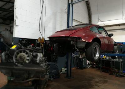 Porsche Oldtimer Motor Getriebe Reparatur Werkstatt Instandsetzung Autowerk Herford