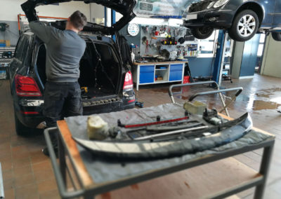 Motor Instandsetzung Reparatur Autowerk Herford