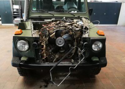 Autowerk Herford Oldtimer Jeep Instandsetzung Motor Reparatur Werkstatt