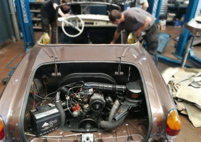Autowerk Herford Oldtimer Instandsetzung Motor Reparatur Werkstatt